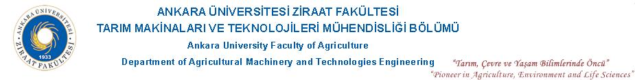 Tarım Makinaları ve Teknolojileri Mühendisliği